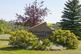 270_Sandstone Point Sign