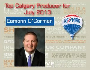 2013 July Top Producer
