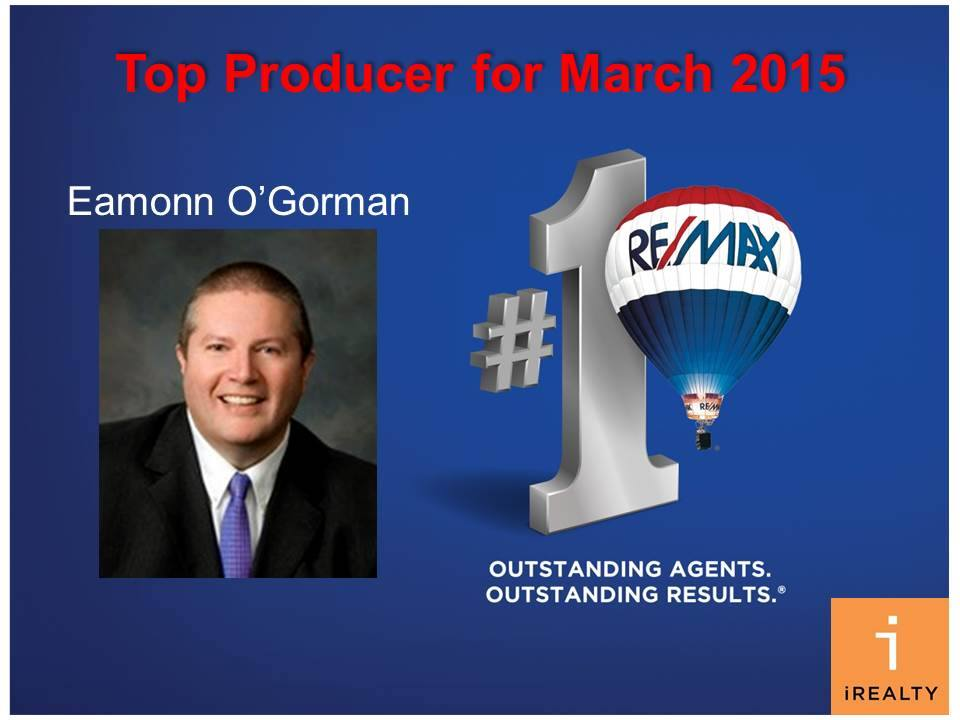 2015 March Top Producer